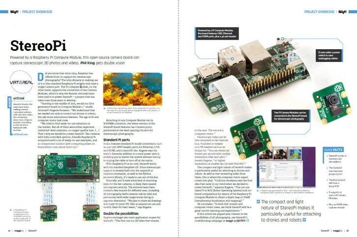 Nowa płytka rozszerzeń do Raspberry Pi CM umożliwia podłączenie dwóch kamer