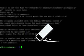 Jak usunąć MOTD widoczny w terminalu Raspberry Pi?