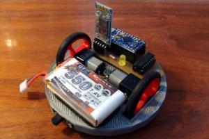 Robot mobilny Bluebot