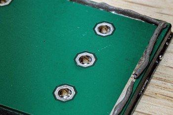 Duże powierzchnie można łączyć pastą lutowniczą