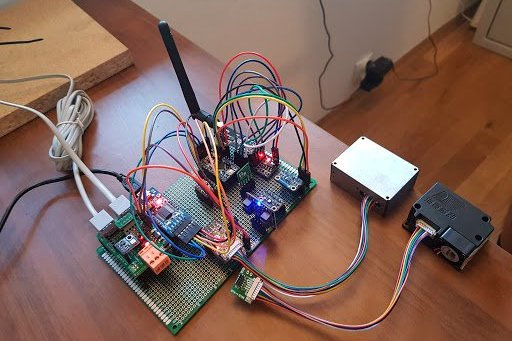 Stacja meteo Arduino -> RPi -> Serwer -> WordPress