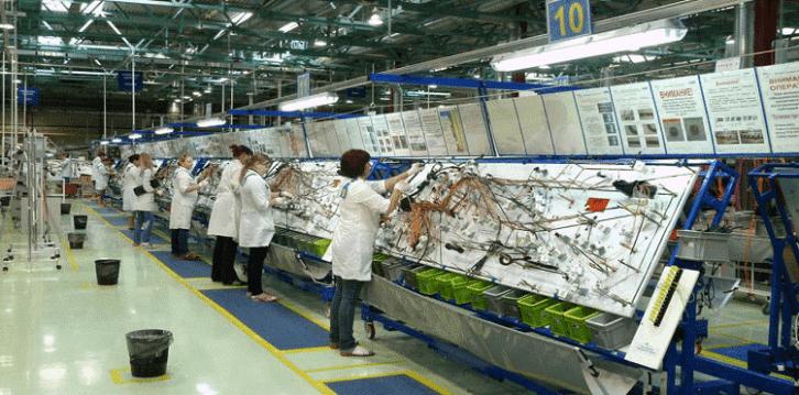 Hala produkcyjna firmy DRÄXLMAIER