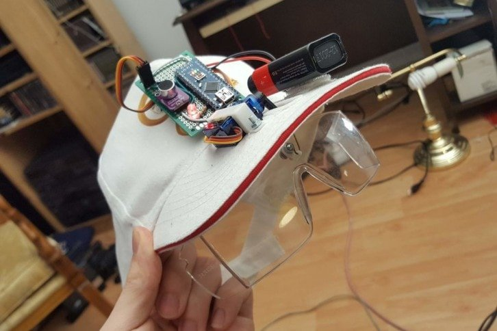 Gotowy prototyp czapki