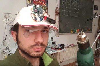 Okulary ochronne z Arduino aktywują się na dźwięk wiertarki