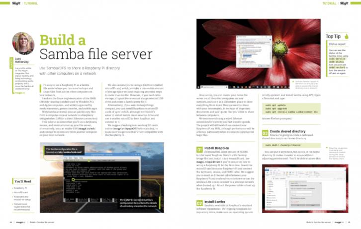 Budowa własnego serwera plików