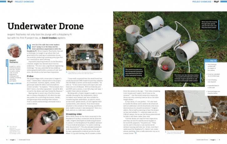 Projekt podwodnego drona