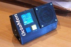 OctoMon - czyli gadający monitor do drukarki 3D