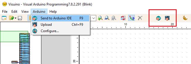 Możliwe opcje wgrania kodu przy pomocy Arduino IDE