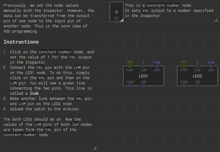 Komentarz dostępny w projekcie przewodnika po XOD