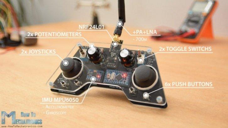 Budowa pilota na bazie Arduino Pro Mini