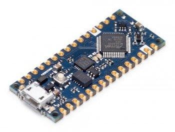 Arduino Every - widok izometryczny