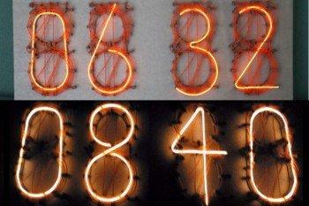 Podświetlone cyfry