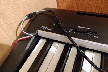 Profil z paskiem diod RGB