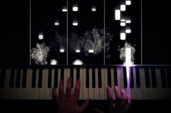 Wizualizacja gry na pianinie dzięki Raspberry Pi i LED RGB