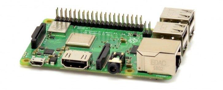 Raspberry Pi jako przykład SBC
