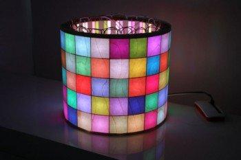 Cylinder RGB sterowany z Raspberry Pi Zero