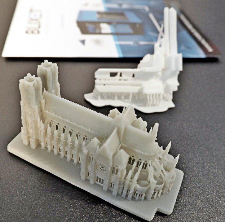 Przykładowe wydruki 3D