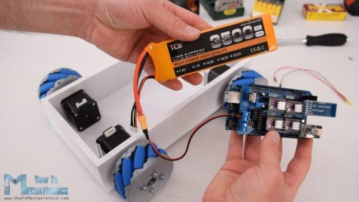 Elektronika niezbędna do działania opisywanego projektu