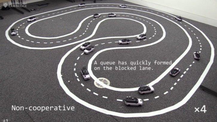 Samochody z wyłączonym trybem kooperacji