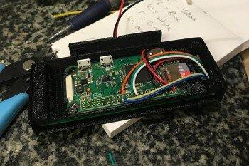 Płytka Raspberry Pi bez wlutowanych goldpinów
