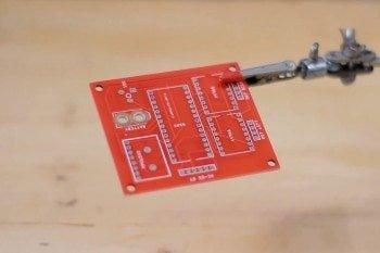 Płytka PCB zaprojektowana przez autora