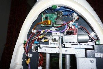 Raspberry Pi sterujące pracą urządzenia