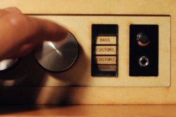 Pokrętło do wyboru rodzaju dźwięków