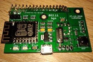 Pilot WiFi do gniazdek 433 MHz