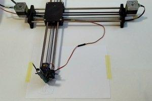 Ploter CNC - pomocnik do kaligrafii