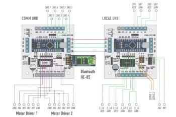 Schemat układu elektronicznego