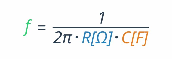 Wzór filtr RC - wzór do obliczeń filtru RC
