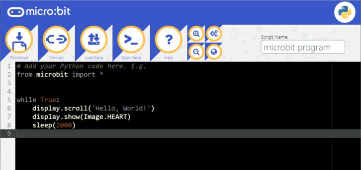 Webowe środowisko do programowanie w MicroPythonie