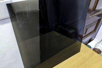 Szkło dymione na czarno