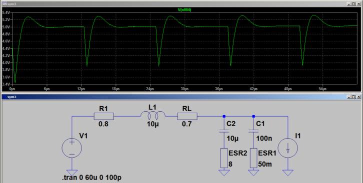 Działanie układu po dołączeniu cewki – filtr LC w praktyce