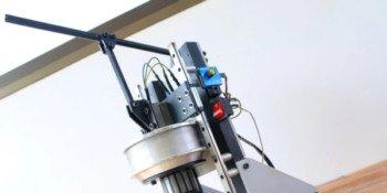 Wiertarka magnetyczna z recyklingu w wersji DIY