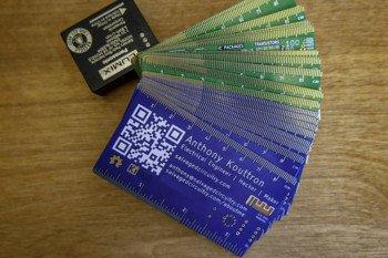 Pierwsza wersja wizytówki bez tagu NFC