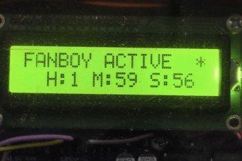 Informacje wyświetlane na LCD