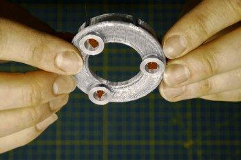 Diody we wnękach silników modelu