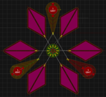 Pierwsza wersja kwiatu
