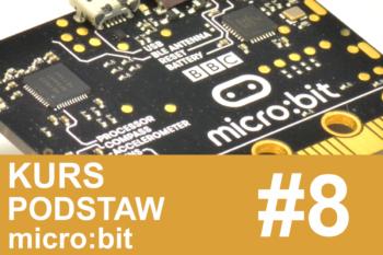 Kurs micro:bit – #8 – ultradźwiękowy czujnik odległości