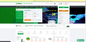 Rejestracja nowego konta na PCBWay