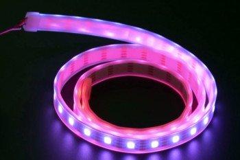 Taśma kolorowych diod RGB