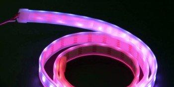 Kurs micro:bit – #7 – pasek kolorowych diod RGB