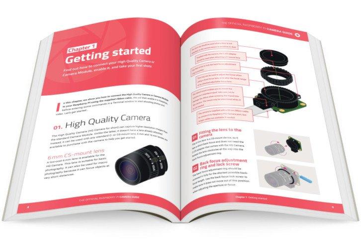 Najnowsza wersja oficjalnego poradnika Raspberry Pi Camera Guide
