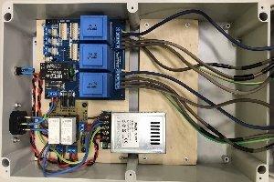 Urządzenie do monitorowania prądów fazowych silnika