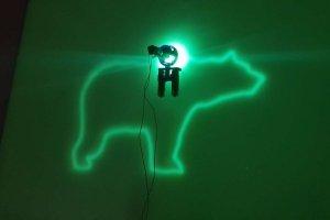 Inteligentny obraz luminescencyjny