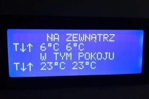 Termometr z gadżetami