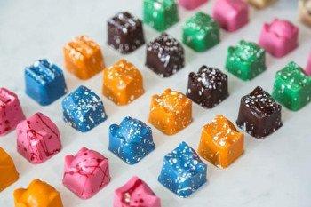Słodycze o oryginalnym kształcie