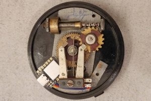 TelDial - klawiatura z tarczy starego telefonu