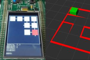Robot Wizualizer - wizualizacja robota Micromouse